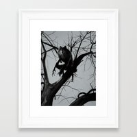 werewolf Framed Art Prints featuring Werewolf by Alex Perkins
