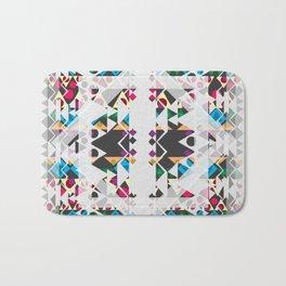 basic Shapes Pattern 3 - Diamonds Bath Mat