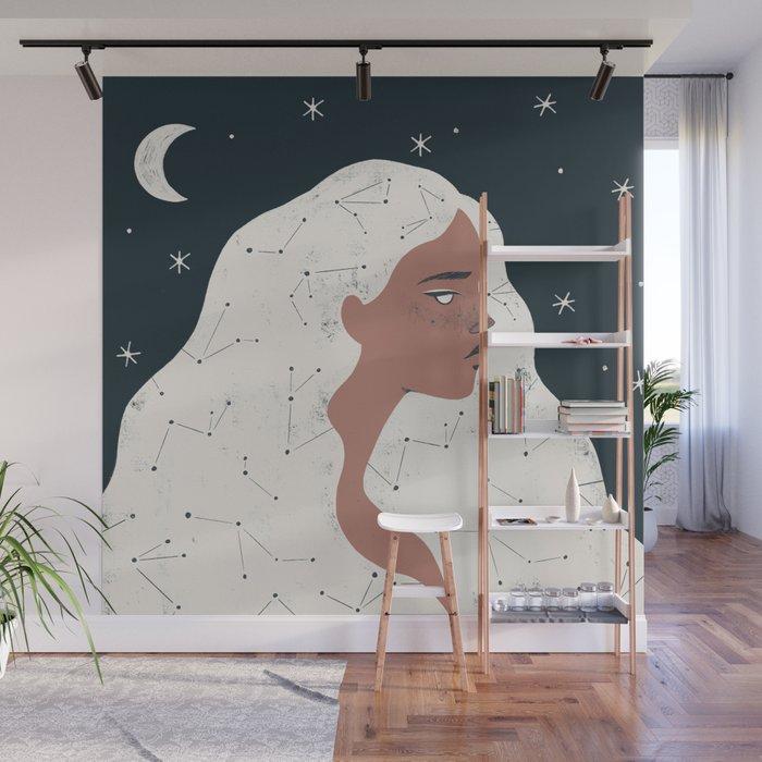 keeper of stars Wall Mural