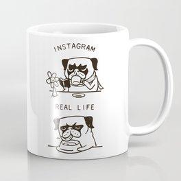 Instagram vs Real Life Coffee Mug
