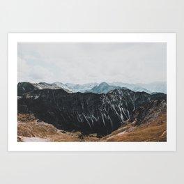 interstellar - landscape photography Art Print