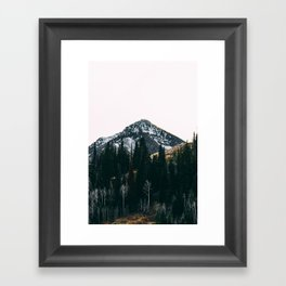 Winter On Its Way Framed Art Print