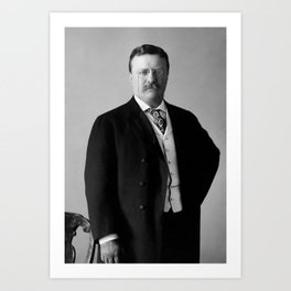 Theodore Roosevelt - 26th President of United States of America Art Print