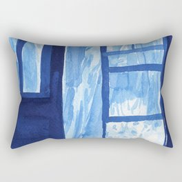 Into the wilderness Rectangular Pillow
