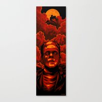 frankenstein Canvas Prints featuring Frankenstein by Denis O'Sullivan