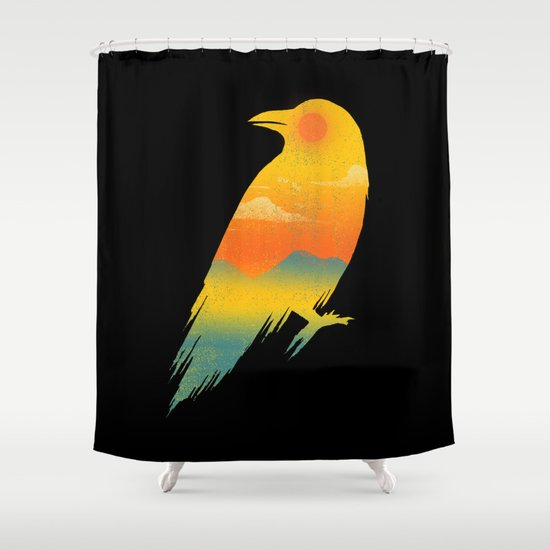 Life in Darkness Shower Curtain