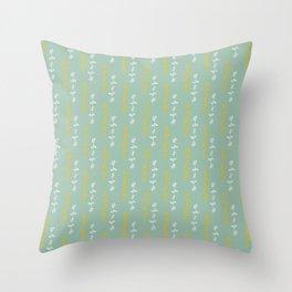 Funky fresh interior and fashion prints Throw Pillow