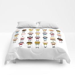Pixel Star Trek Alphabet Comforters