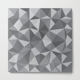 Geometric pyramids V5 Metal Print