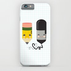 Pencil and Sharpie Buds iPhone 6s Slim Case