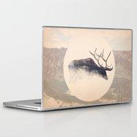 elk Laptop & iPad Skins featuring Elk by hipepper