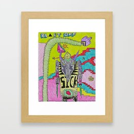 Sick Beatz Framed Art Print