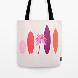 tropical surf Tote Bag