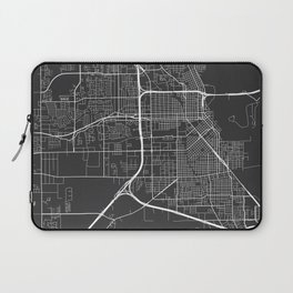 Beaumont Map, USA - Gray Laptop Sleeve