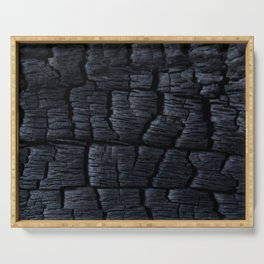 Charred Serving Tray