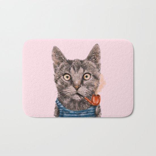 Sailor Cat IX Bath Mat