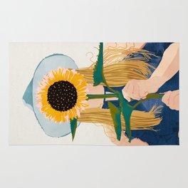 Miss Sunflower    Rug