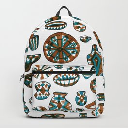 New Mexico Pottery Backpack