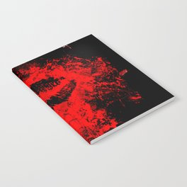 Gothic Bloody Kiss Notebook