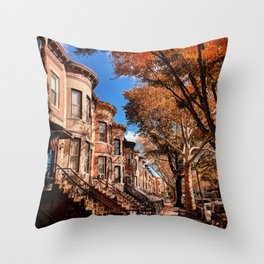 Brooklyn, Bay Ridge Throw Pillow