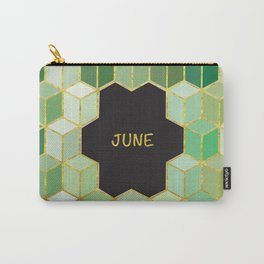 Cubes Of June Carry-All Pouch