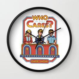 who cares? Wall Clock