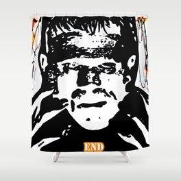 Frankenstiens Monster Painting Horror PoP Art!!!! Shower Curtain