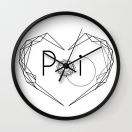 I love POI Wall Clock