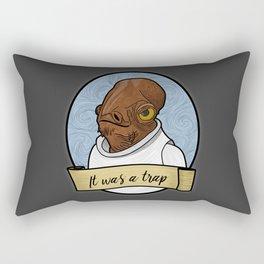 It was a trap Rectangular Pillow