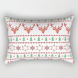 Christmas Sweater Rectangular Pillow