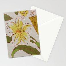 flower knit Stationery Cards
