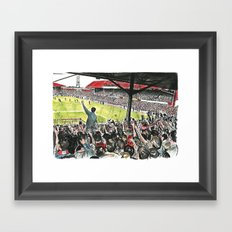 INSIDE THE HOLGATE Framed Art Print