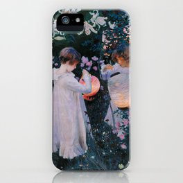 Carnation, Lily, Lily, Rose iPhone Case