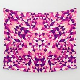 Triangle mandala 1 Wall Tapestry