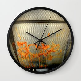 And The Dinner Is... Wall Clock