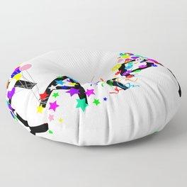 Just Happy Floor Pillow