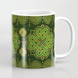 Celtic Endless Knot - Shamrock Four-leaf clover Coffee Mug