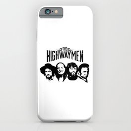 The Highwaymen Music iPhone Case
