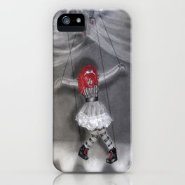 All Strung Up; Human Marionette iPhone Case
