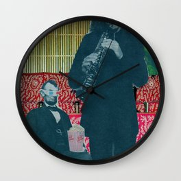 Another night at the Ford Wall Clock