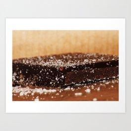 Xmas Chocolate Art Print
