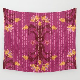 Kantha bouquet 5 Wall Tapestry