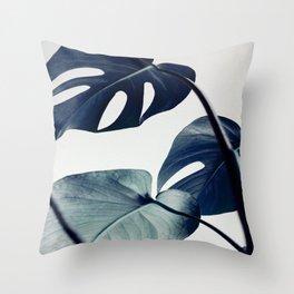 botanical vibes II Throw Pillow