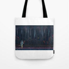 Lurker in the Darkness Tote Bag