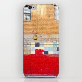 greenpoint walls iPhone Skin