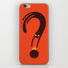 Curiosity Exploded the Cat iPhone Skin