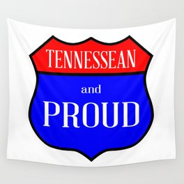 Tennessean And Proud Wall Tapestry