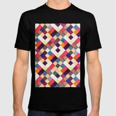 Pass this On II MEDIUM Black Mens Fitted Tee