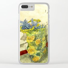 A Bag of Pineapples Clear iPhone Case