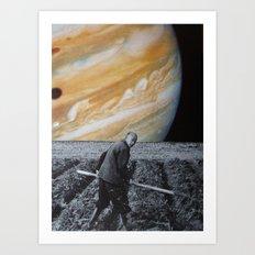 collage 12 Art Print
